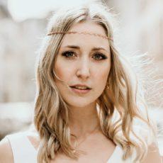SHIVA Haarkette roségold