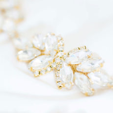 Sissi Brautgürtel Farbe Gold