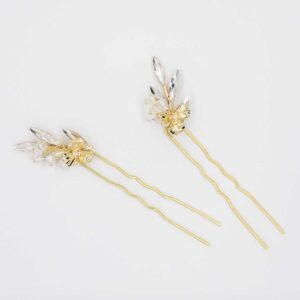 Amelia 2er Set Haarnadeln Farbe Gold
