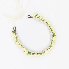 FEE Blumenkranz Farbe Vanille