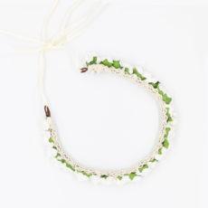 FEE Blumenkranz Farbe Weiß