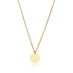 CIRCLE Kette, Farbe: Gold