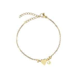 Friends Heart Armband, Farbe: Gold