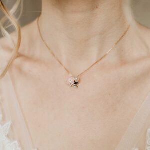 Halskette roségold