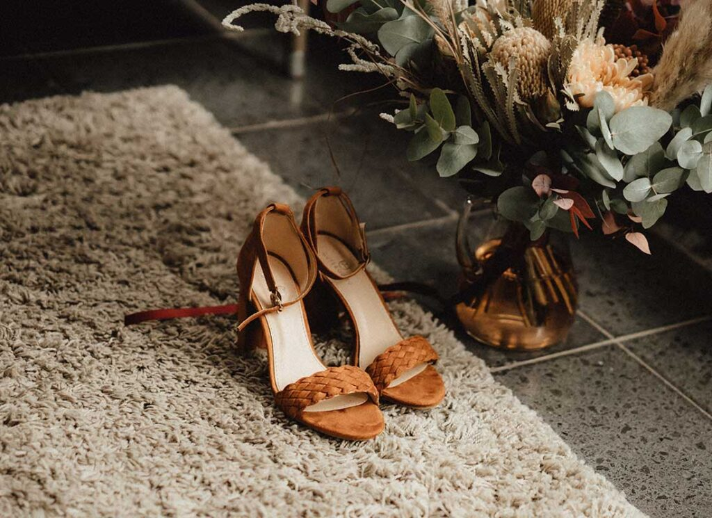Die Hochzeitsschuhe