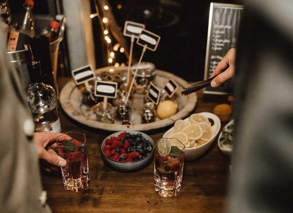 Stell dir deinen eigenen Gin zusammen