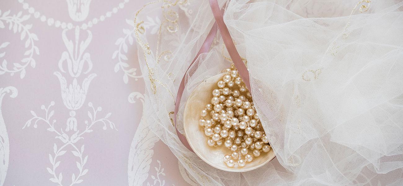 Braut Accessoires für die Hochzeit
