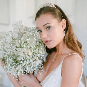 Krone-Hochzeit-Braut-Haarschmuck