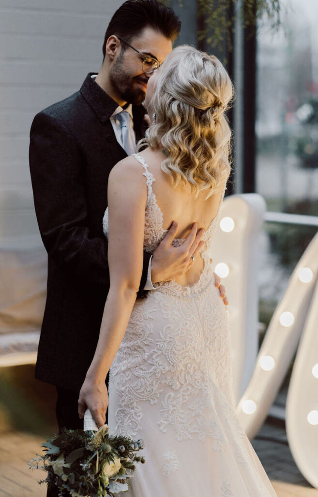 Brautpaar-Fotos