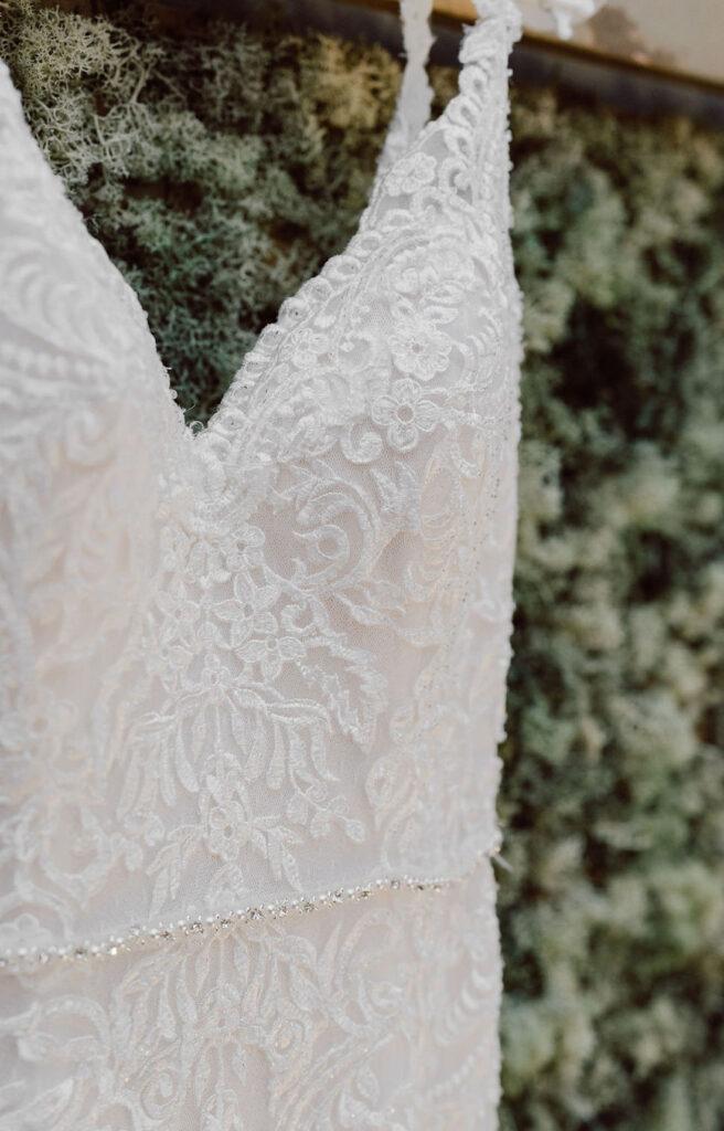 Details-Hochzeitskleid