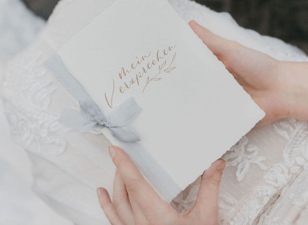 Eheversprechen-Papeterie