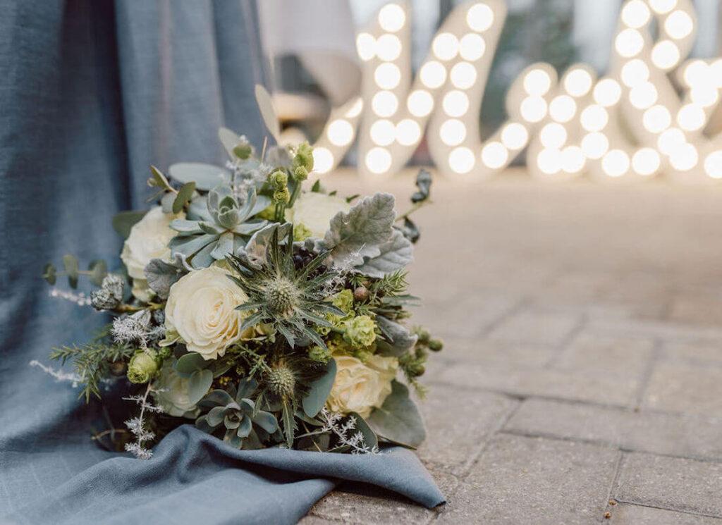 Hochzeitsstrauss-Greenery