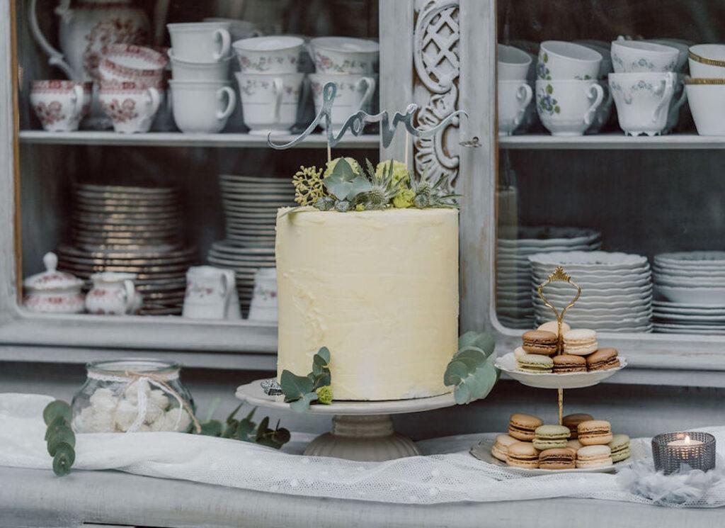 Kuchen-Hochzeit-geld