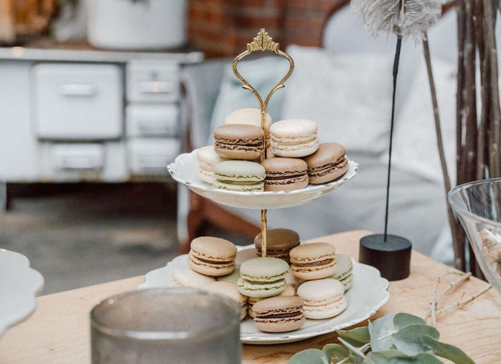 Macarons-Hochzeit