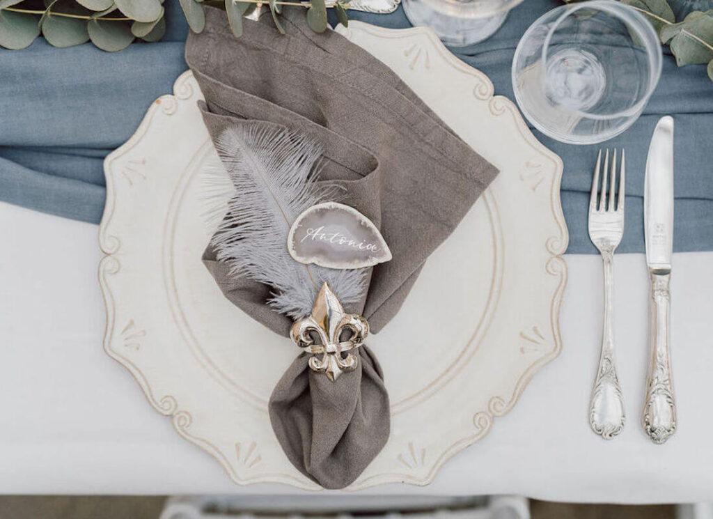 Tisch-Deko-Hochzeit