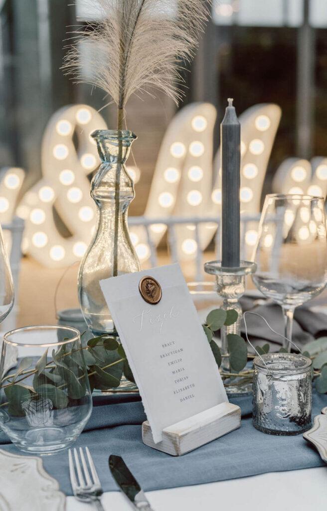 Tischdekoideen-Hochzeit